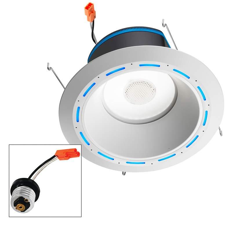 "Juno AI 6"" White Cone Trim JBL Speaker Downlight with Alexa"