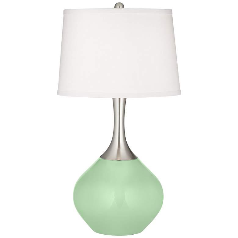 Flower Stem Green Spencer Table Lamp