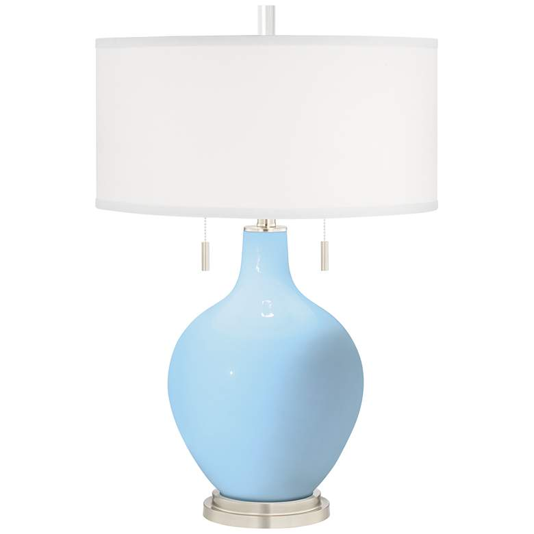Wild Blue Yonder Toby Table Lamp