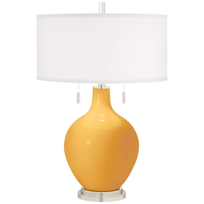Marigold Yellow Toby Table Lamp
