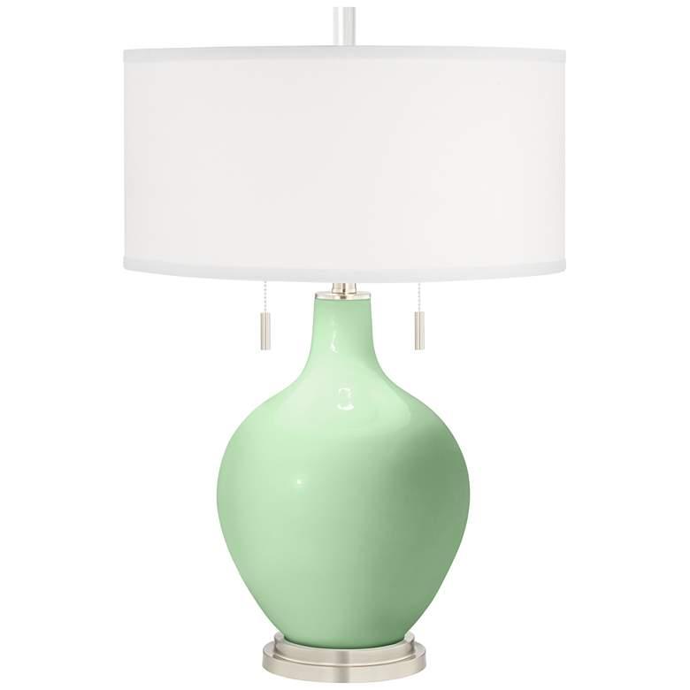 Flower Stem Green Toby Table Lamp