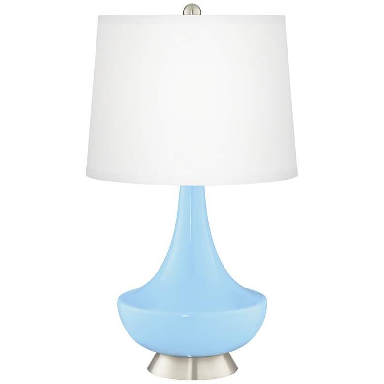 Wild Blue Yonder Gillan Glass Table Lamp