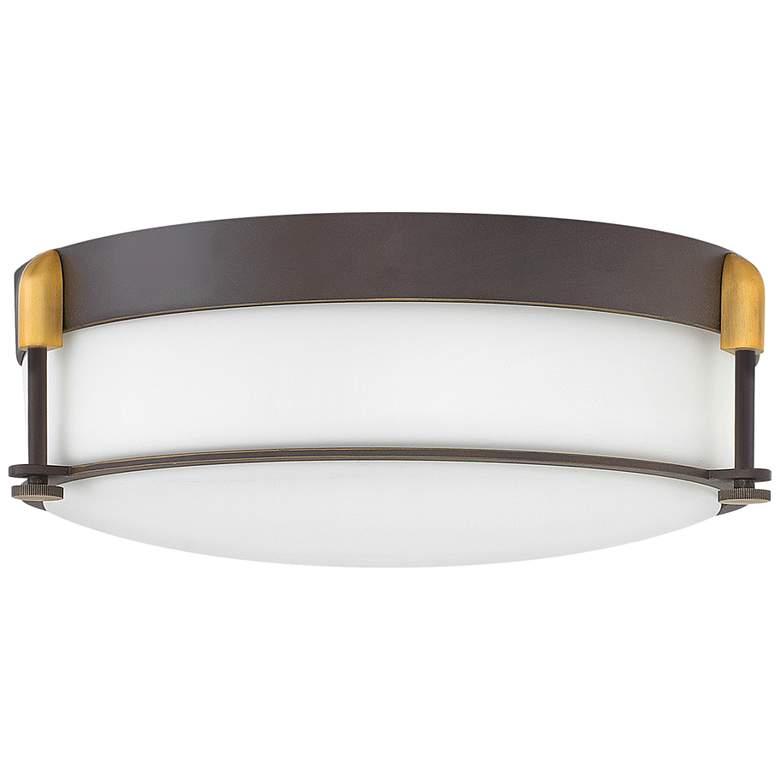 "Hinkley Colbin 16 1/2"" Wide Oil-Rubbed Bronze Ceiling Light"