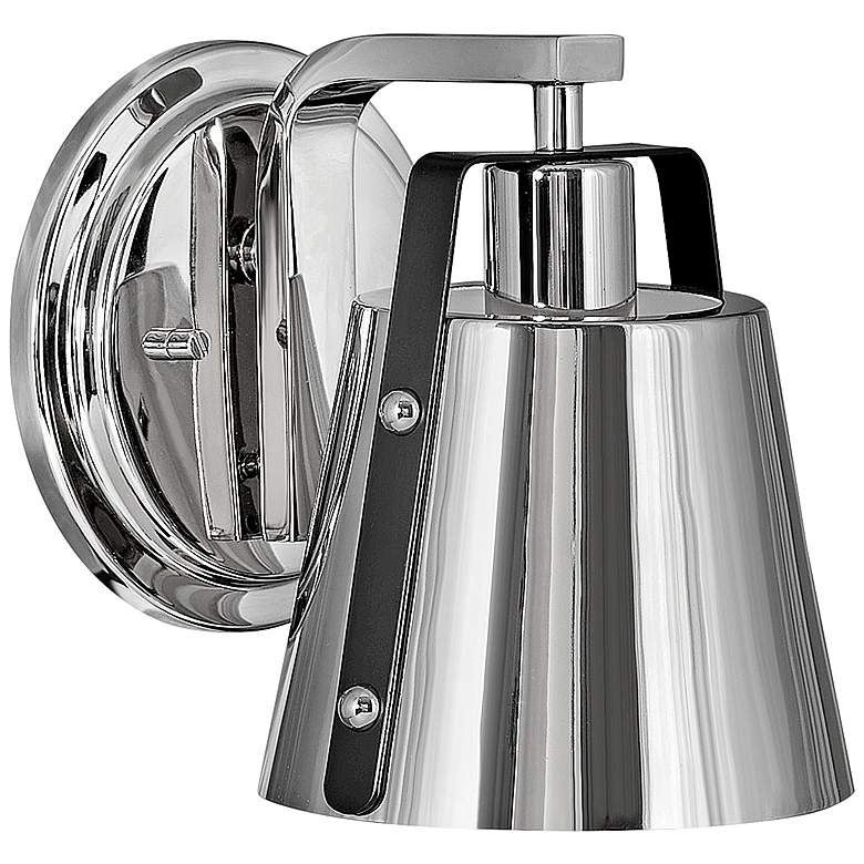 """Hinkley Cartwright 7 1/2"""" High Polished Nickel Wall Sconce"""