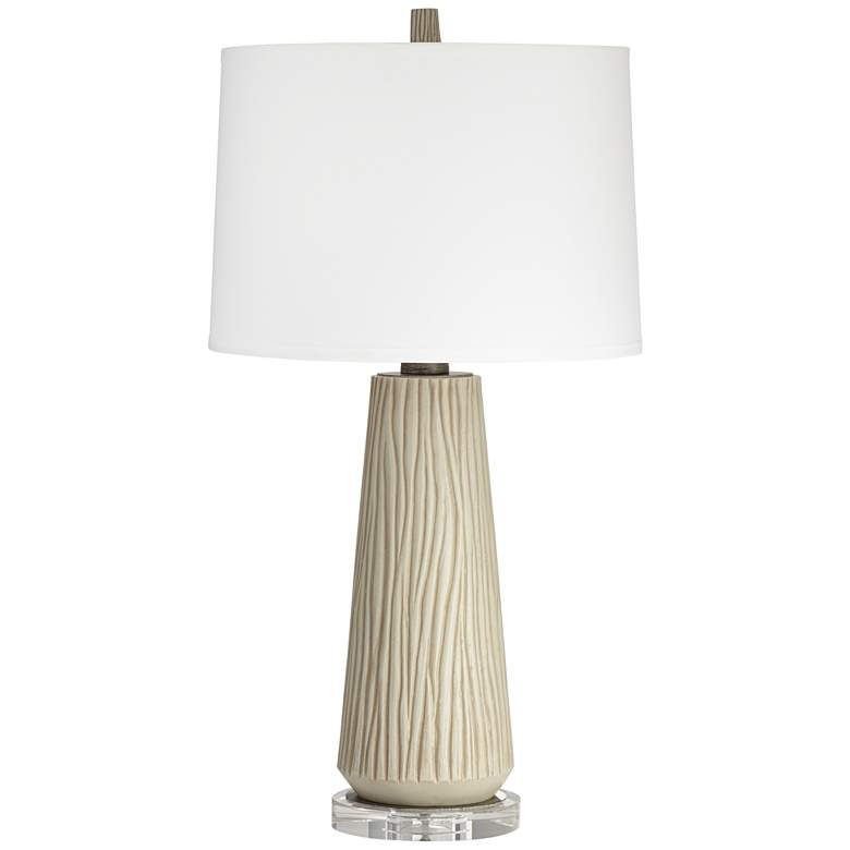 West Oak Rustic Modern Table Lamp