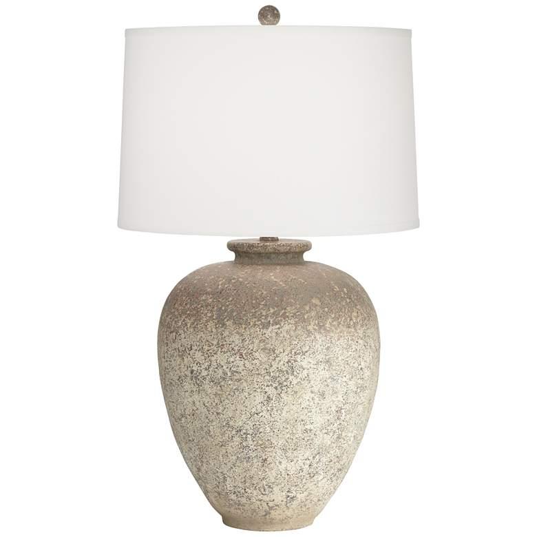 Eloy Rustic Jar Table Lamp