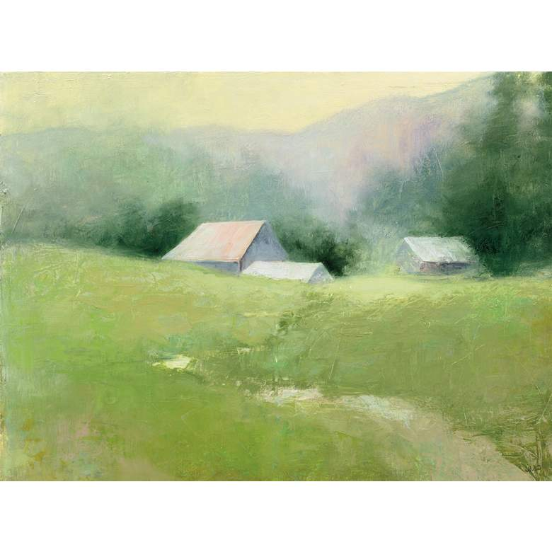 """Field Of Green 40"""" Wide All-Weather Outdoor Canvas Wall Art"""