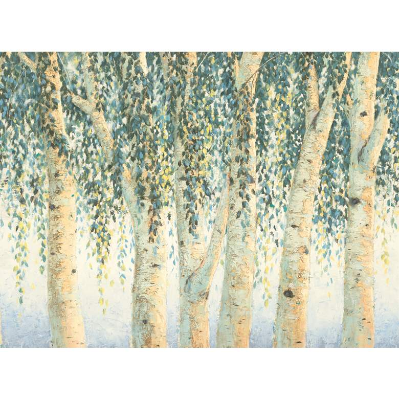 "Sweeping Branches 40""W All-Weather Outdoor Canvas Wall Art"