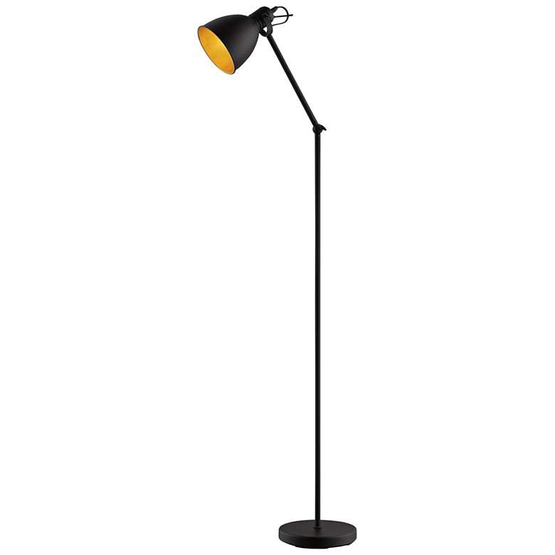 Eglo Priddy 2 Black Metal Adjustable Floor Lamp
