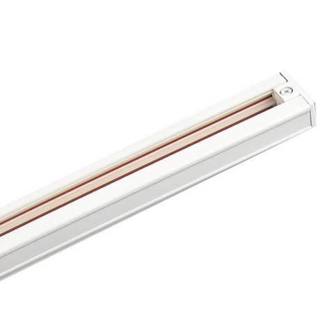 intense lighting 8 foot white single circuit track system 92334