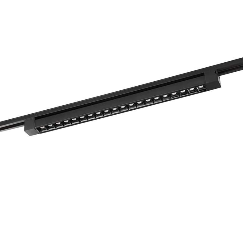 Satco 2-Foot Black 30-Degree Beam LED Track Light Bar