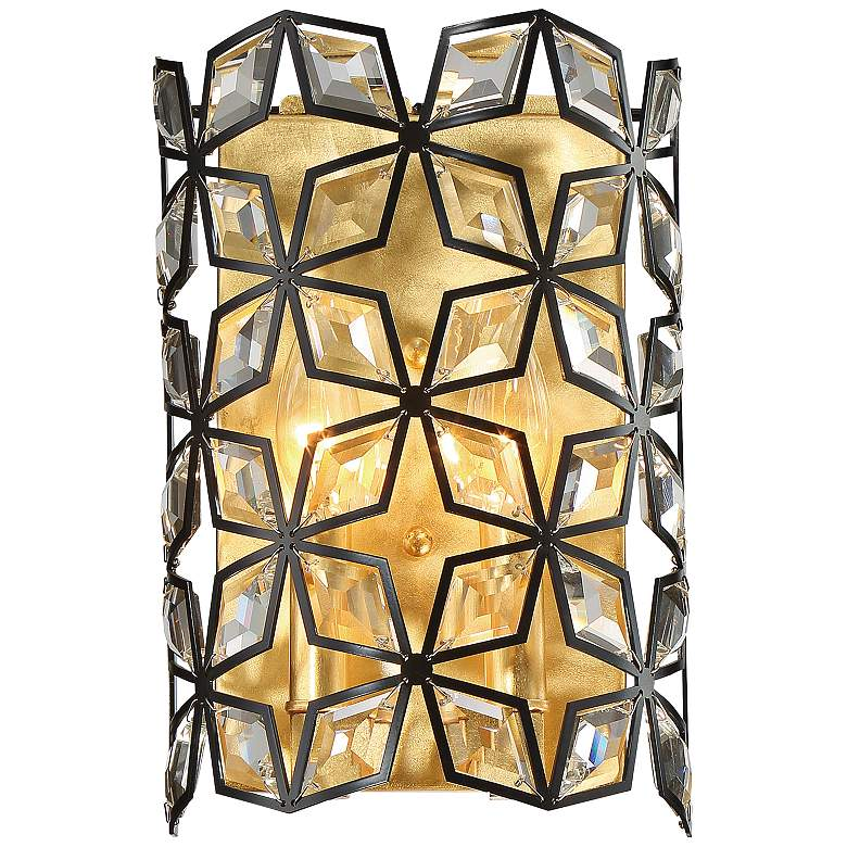 """Brookcrest 11 1/2"""" High Sand Corral Wall Sconce"""