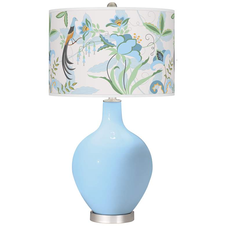 Wild Blue Yonder Sofia Ovo Table Lamp