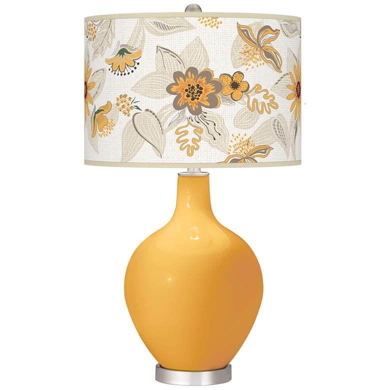 Marigold Mid Summer Ovo Table Lamp