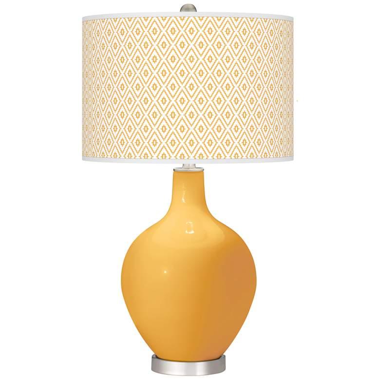 Marigold Diamonds Ovo Table Lamp