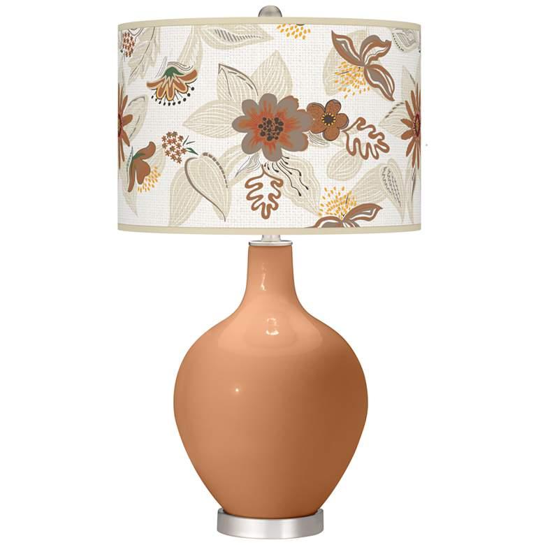 Burnt Almond Mid Summer Ovo Table Lamp