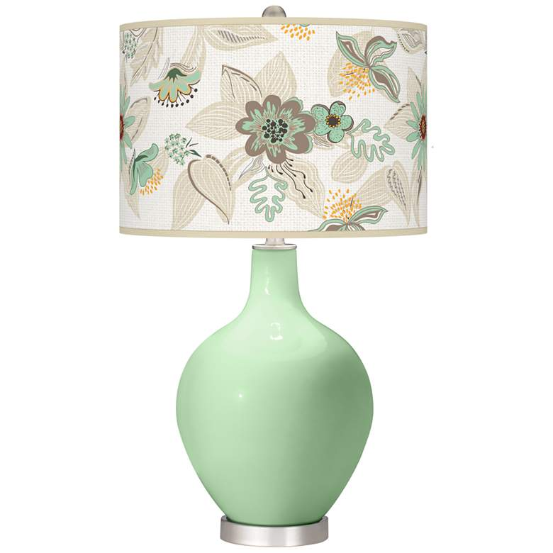 Flower Stem Mid Summer Ovo Table Lamp