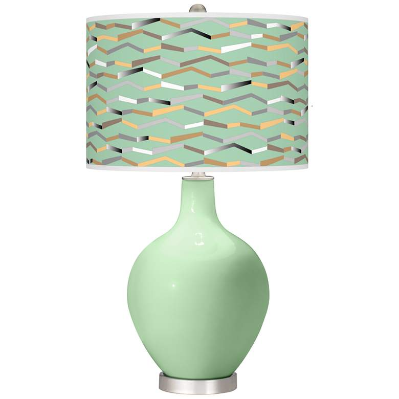 Flower Stem Shift Ovo Table Lamp