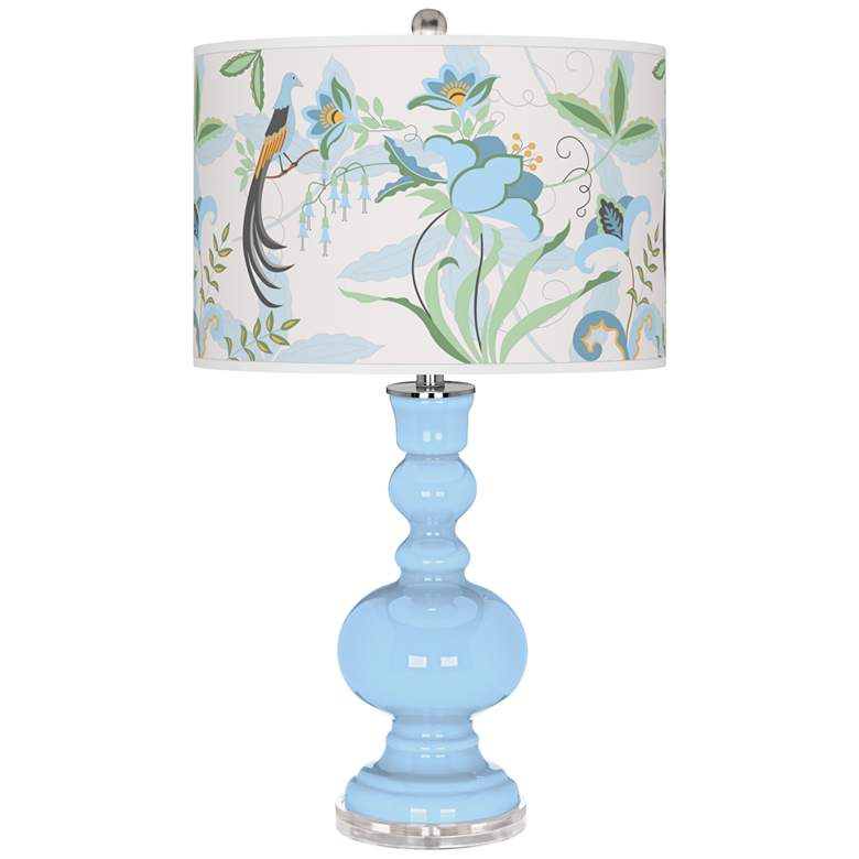 Wild Blue Yonder Sofia Apothecary Table Lamp