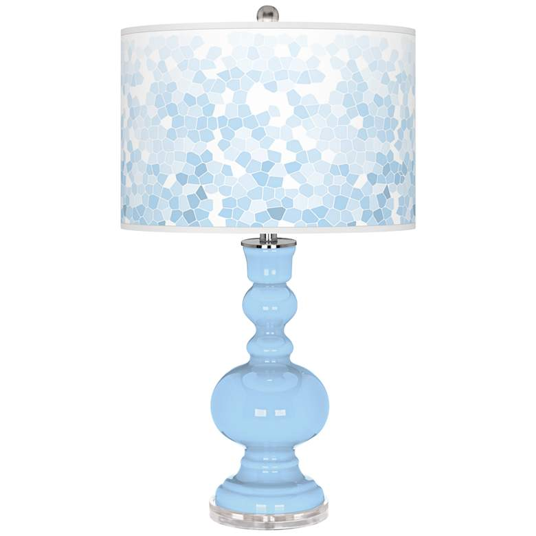 Wild Blue Yonder Mosaic Apothecary Table Lamp