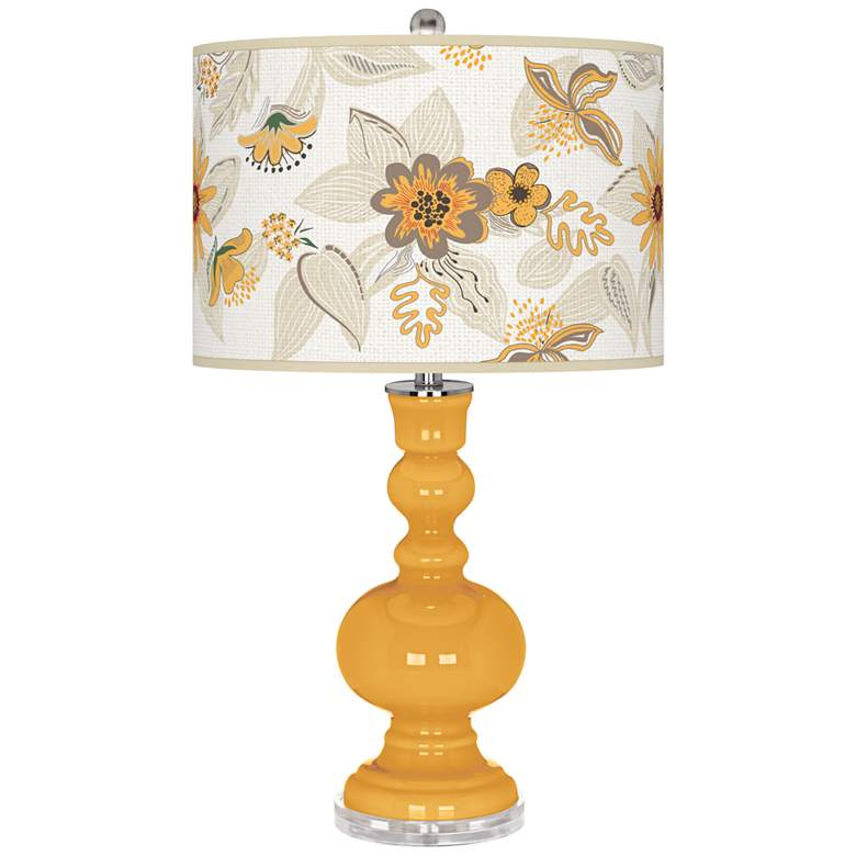 Marigold Mid Summer Apothecary Table Lamp