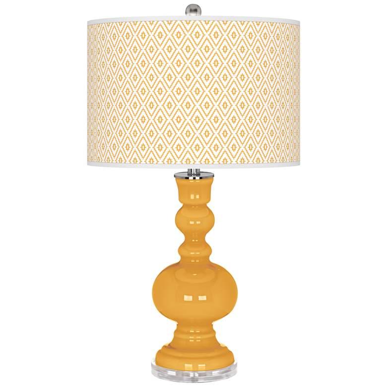 Marigold Diamonds Apothecary Table Lamp