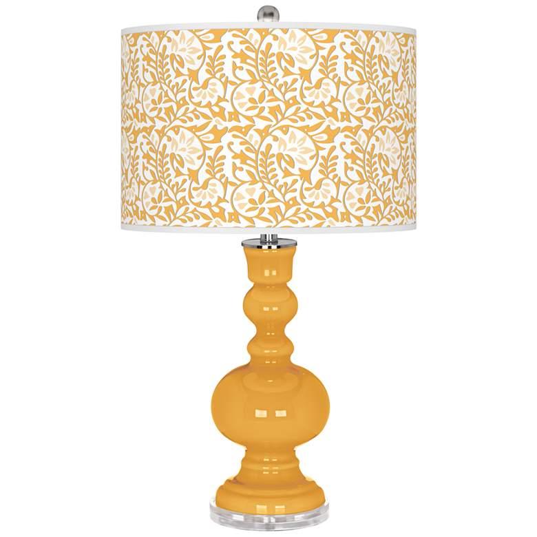 Marigold Gardenia Apothecary Table Lamp