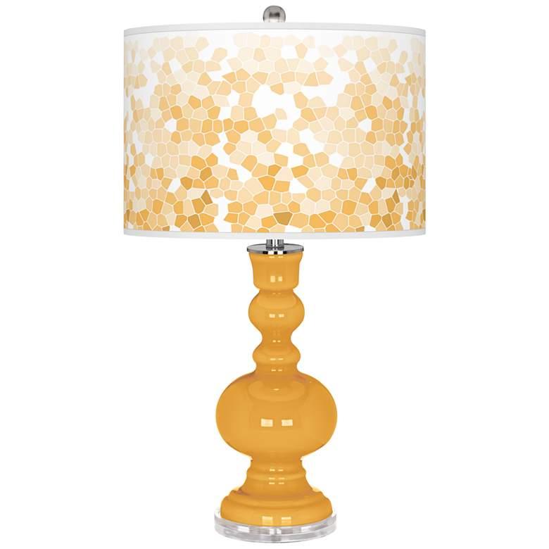 Marigold Mosaic Apothecary Table Lamp