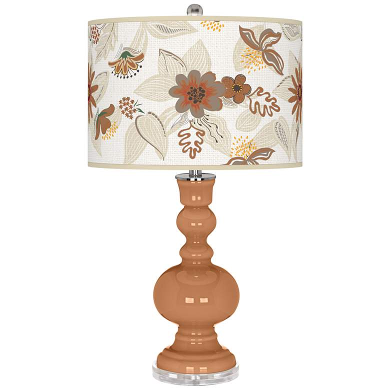 Burnt Almond Mid-Summer Apothecary Table Lamp