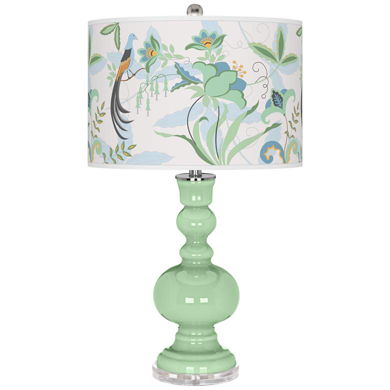 Flower Stem Sofia Apothecary Table Lamp