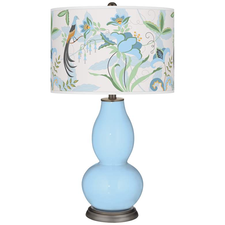 Wild Blue Yonder Sofia Double Gourd Table Lamp