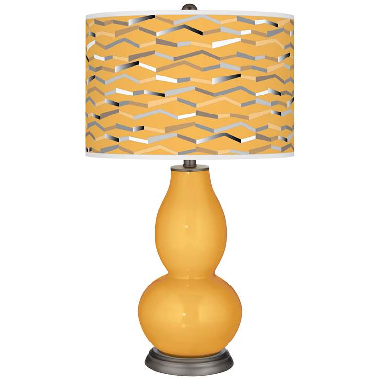 Marigold Shift Double Gourd Table Lamp