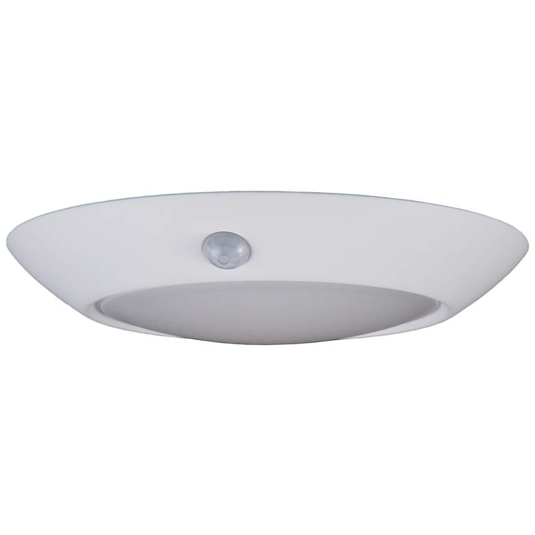 """4"""" White Motion Sensor 10 Watt LED Disk Light"""
