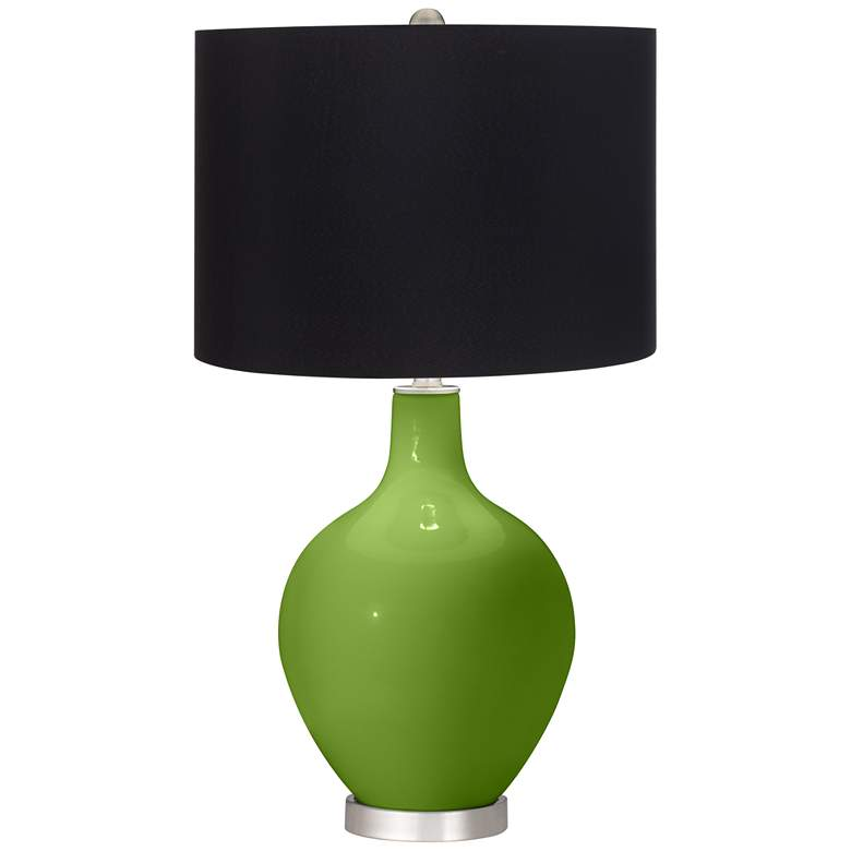 Gecko Ovo Table Lamp with Black Shade