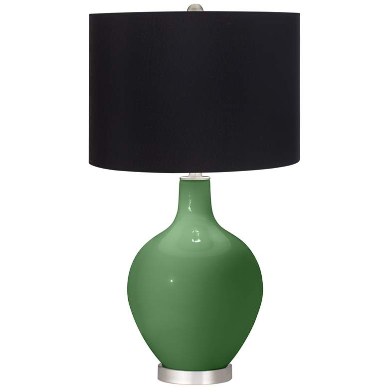 Garden Grove Ovo Table Lamp with Black Shade