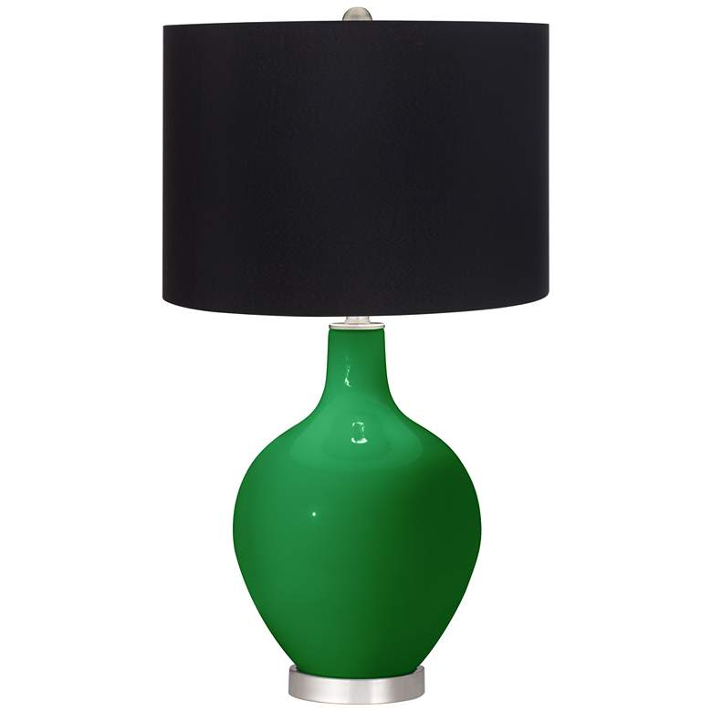 Envy Ovo Table Lamp with Black Shade