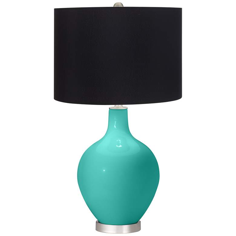 Synergy Ovo Table Lamp with Black Shade
