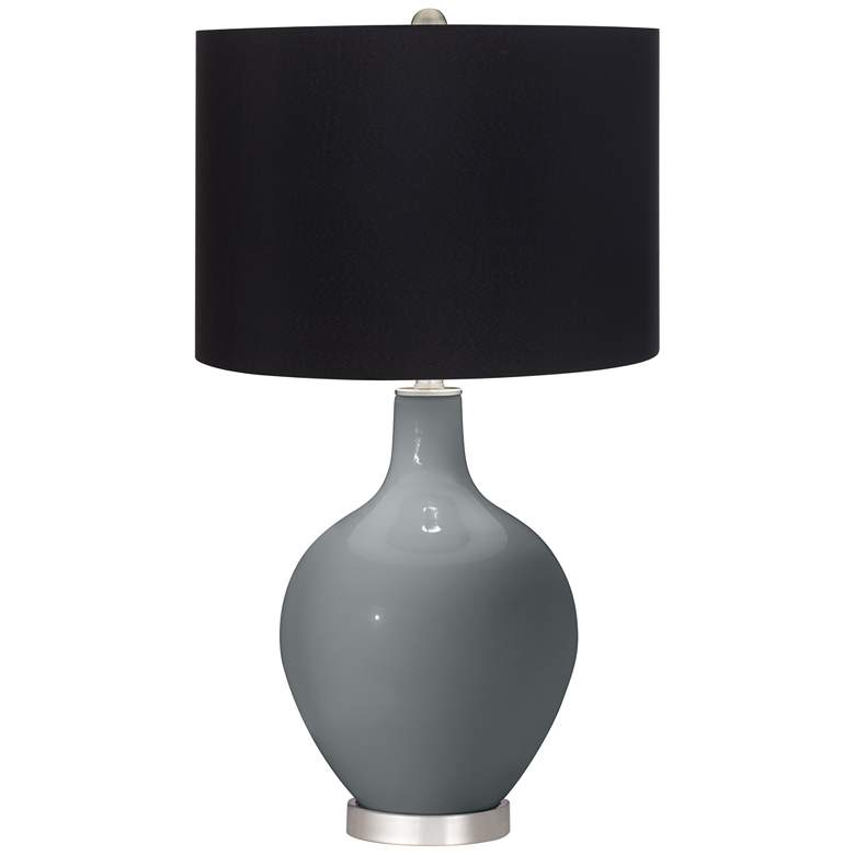 Software Ovo Table Lamp with Black Shade