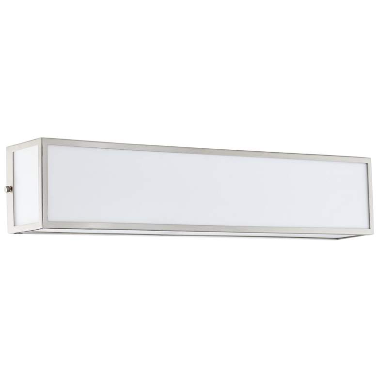 """Chance 24 3/4"""" Wide Frosted White Acrylic LED Bath Light"""