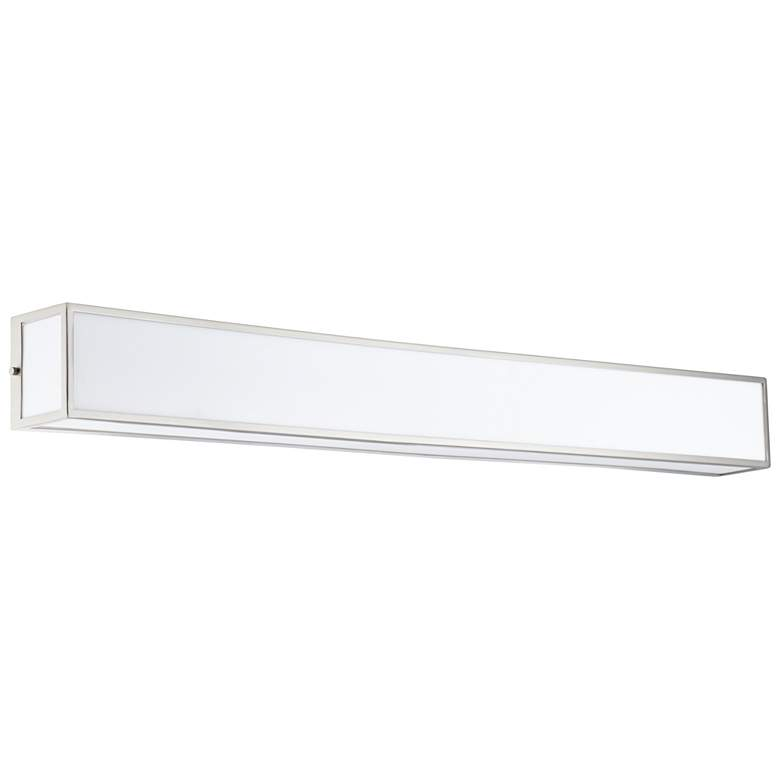 """Chance 48 3/4"""" Wide Frosted White Acrylic LED Bath Light"""