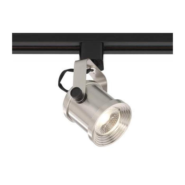 Satco Nuvo Brushed Nickel Forged 24-Degree LED Track Head