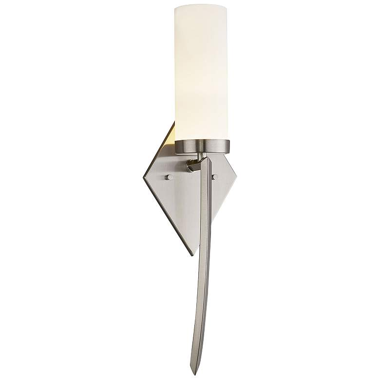 """Fusion™ Pointe 20"""" High Brushed Nickel LED Wall Sconce"""