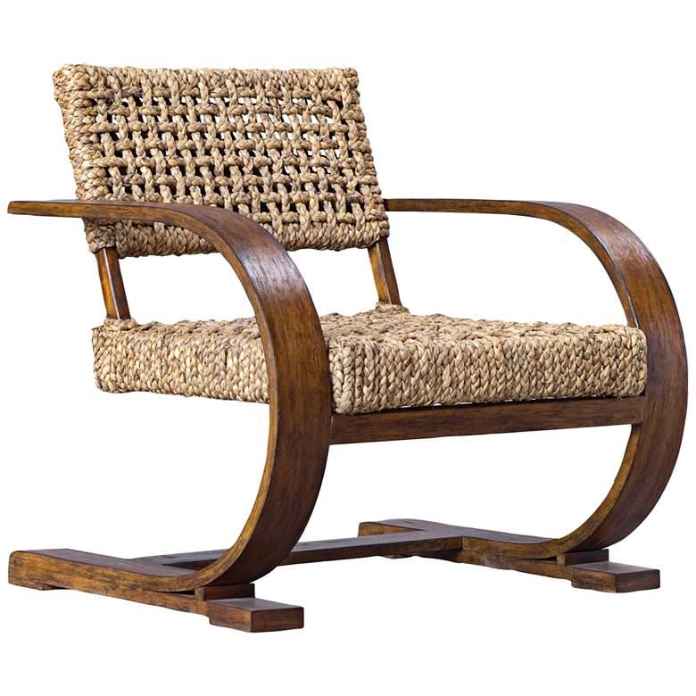 Uttermost Rehema Natural Woven Banana Accent Chair