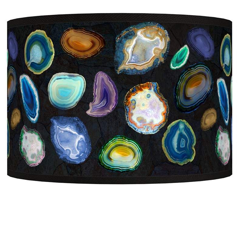Agates and Gems II Giclee Shade 12x12x8.5 (Spider)