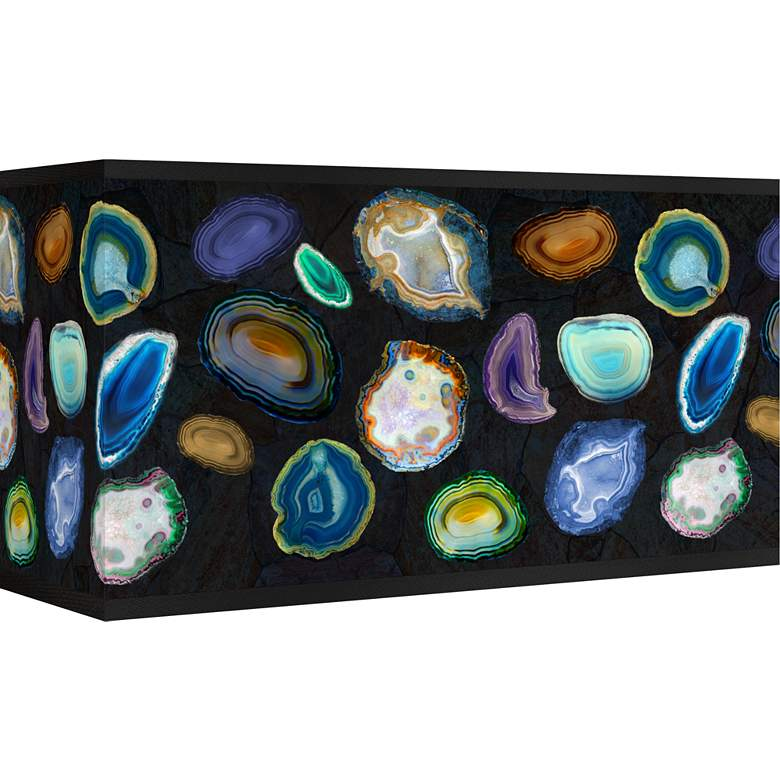 Agates and Gems II Giclee Shade 8/17x8/17x10 (Spider)