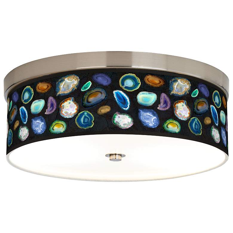 Agates and Gems II Giclee Energy Efficient Ceiling Light