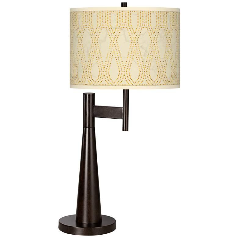 Roman Pebbles Giclee Novo Table Lamp