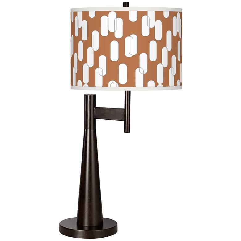 Ovals II Giclee Novo Table Lamp