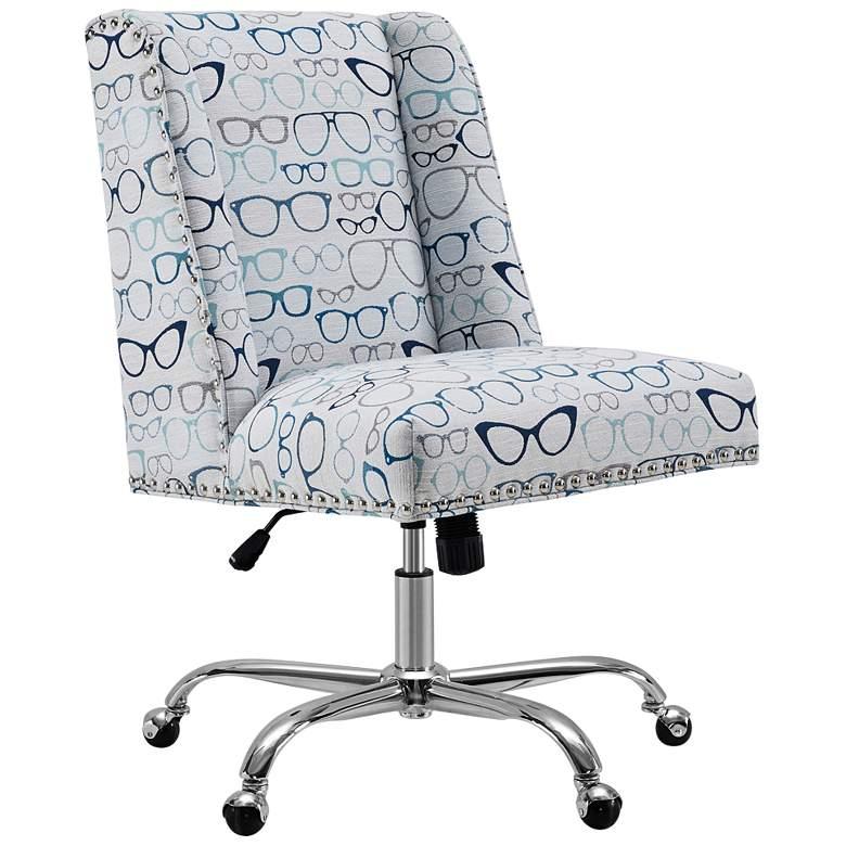 Draper Glasses Adjustable Swivel Office Chair