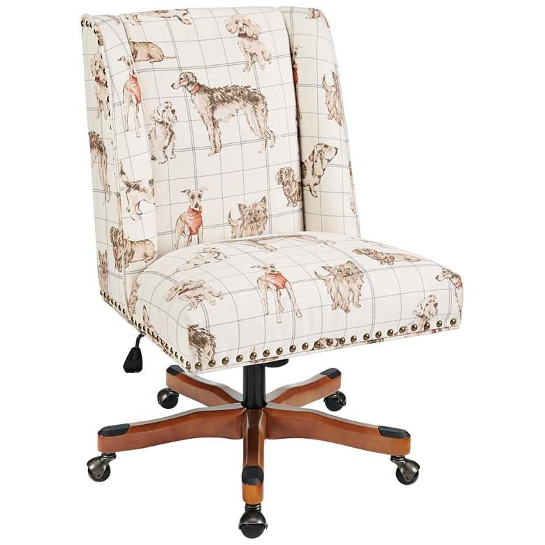 Draper Stone Dog Daze Adjustable Swivel Office Chair